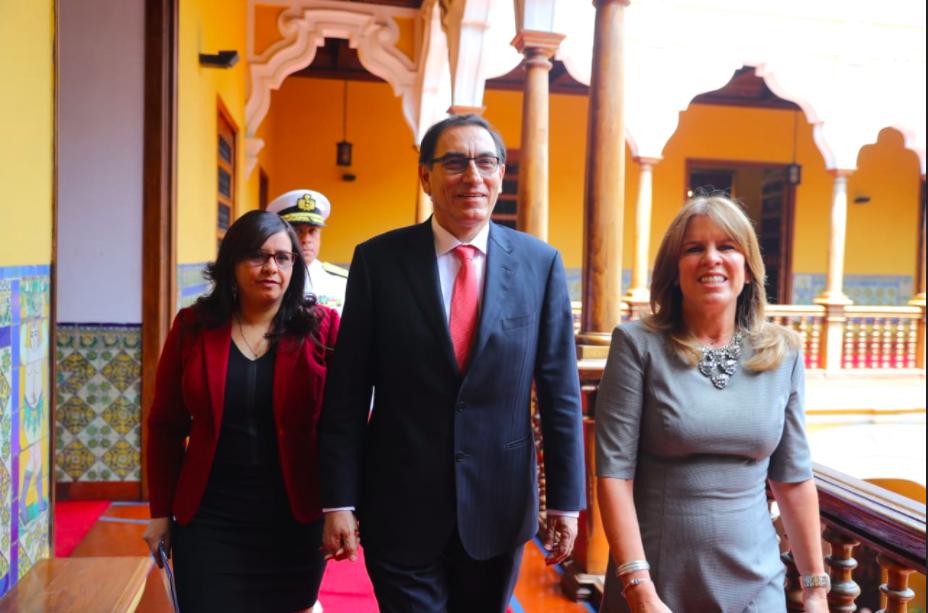 Martin Vizcarra peru president