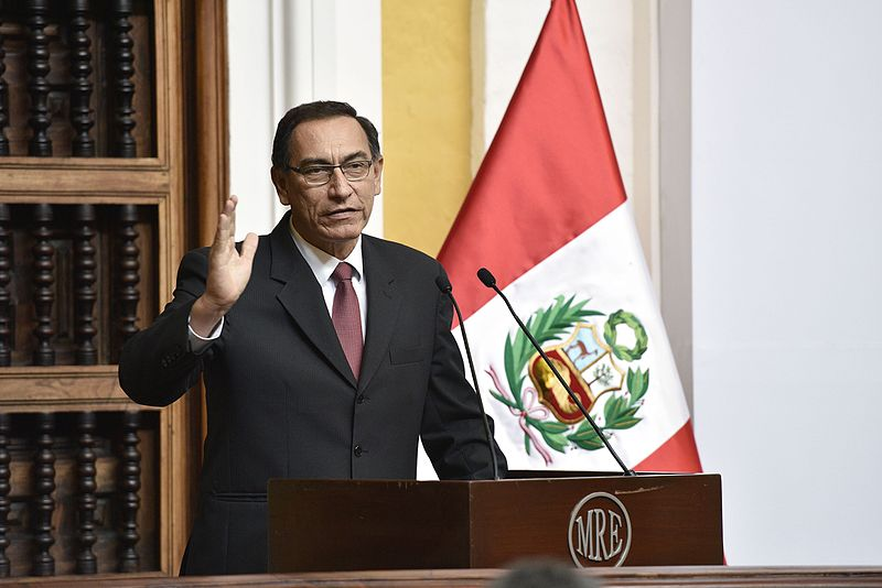 Peru's Vice President would not step down if President Kuczynski is impeached