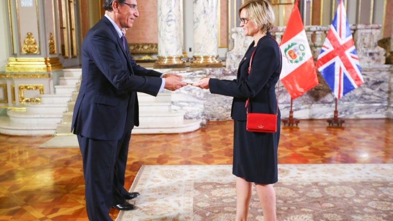 New British ambassador begins tenure in Peru