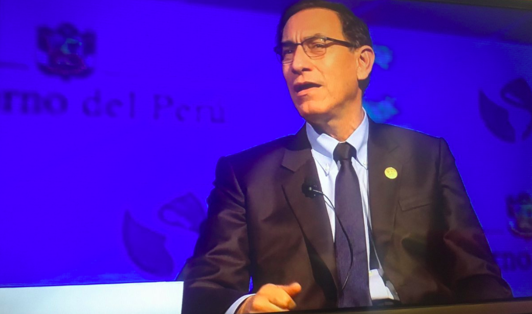 President Vizcarra says Odebrecht should not be able to continue working in Peru