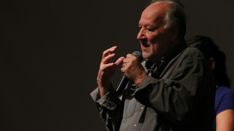 "Decorated film director Werner Herzog in Peru: ""Be proud to be Peruvians"""