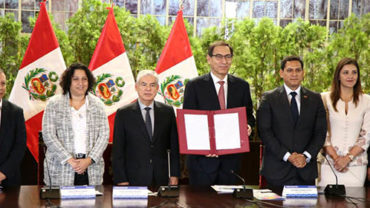 Peru becomes the first country in South America to have a climate change law