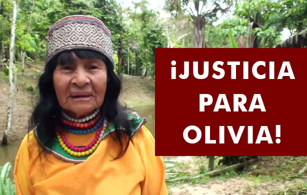 Assassinated Forest Defender Olivia Arévalo Lomas Laid to Rest