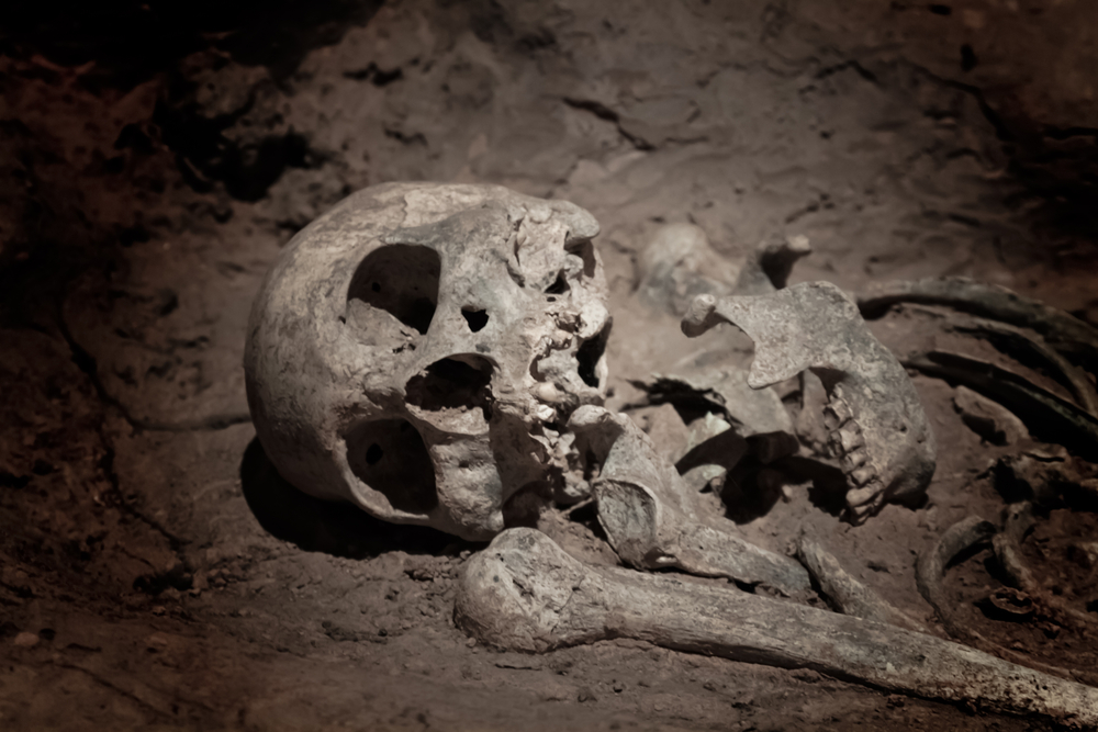 In Peru, the largest was found the remains of sacrificial children