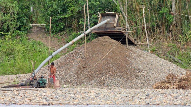 Peru's judicial loopholes allow illegal mining to flourish