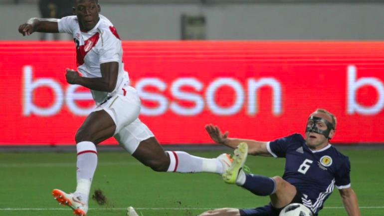 Peru beats Scotland 2-0 in pre-World Cup friendly