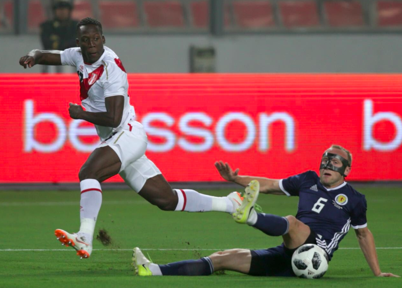 Peru beats Scotland 2-0 in pre-World Cup friendly