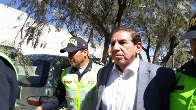 Peru judge sentenced for receiving bribes