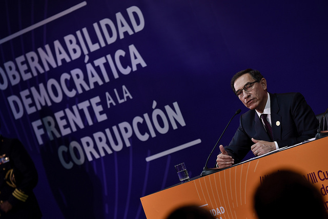 Martín Vizcarra's approval rating swells to 61% after eventful month