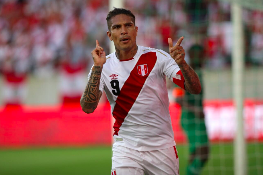 Paolo Guerrero returns to Peru with goal over Saudi Arabia in 3-0 friendly win