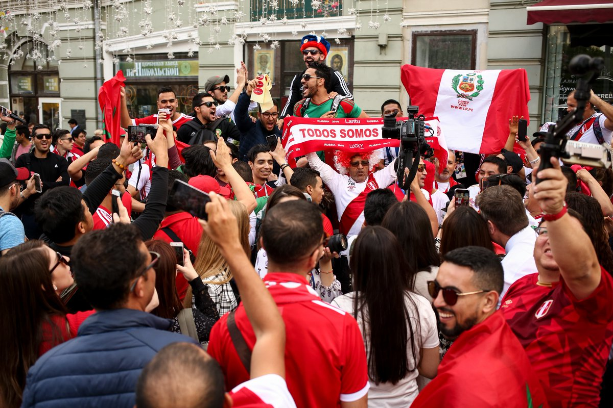 How one fan gained a bunch of weight to see Peru play in the World Cup
