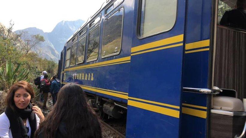 machu picchu train crash