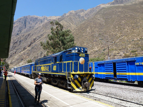 machu picchu train crash