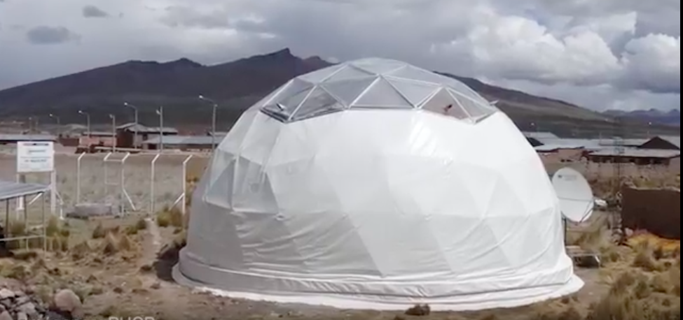 Could this climatized dome help change lives in southern Peru?