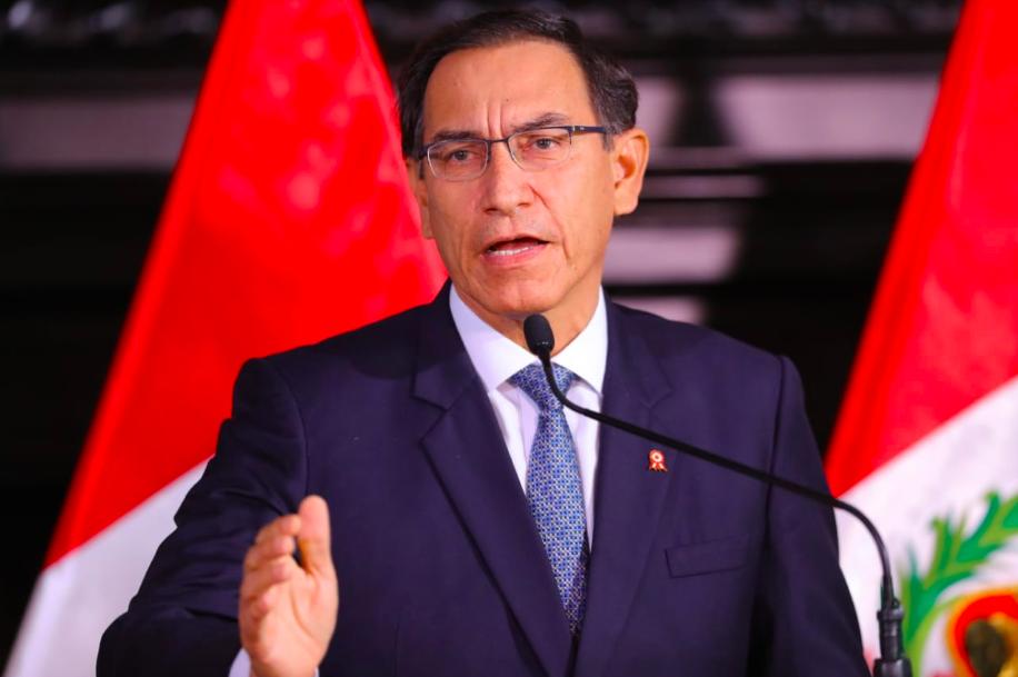 President Vizcarra announces plans to reform judicial system