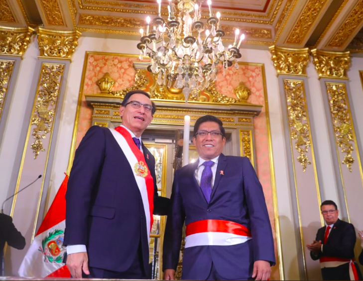 Peru's new Justice Minister sworn in on heels of judicial scandal