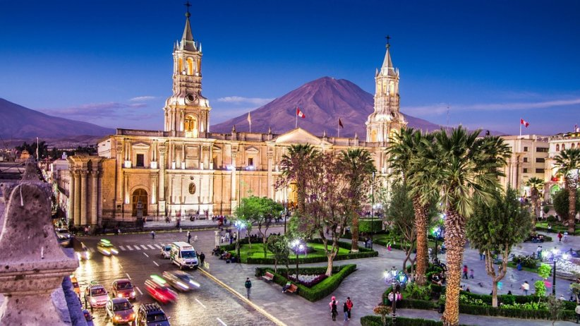 Arequipa is one of the most vu...