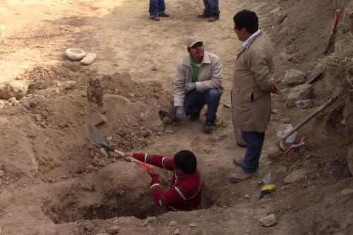 Pre-Incan archaeological remains found in Huancayo