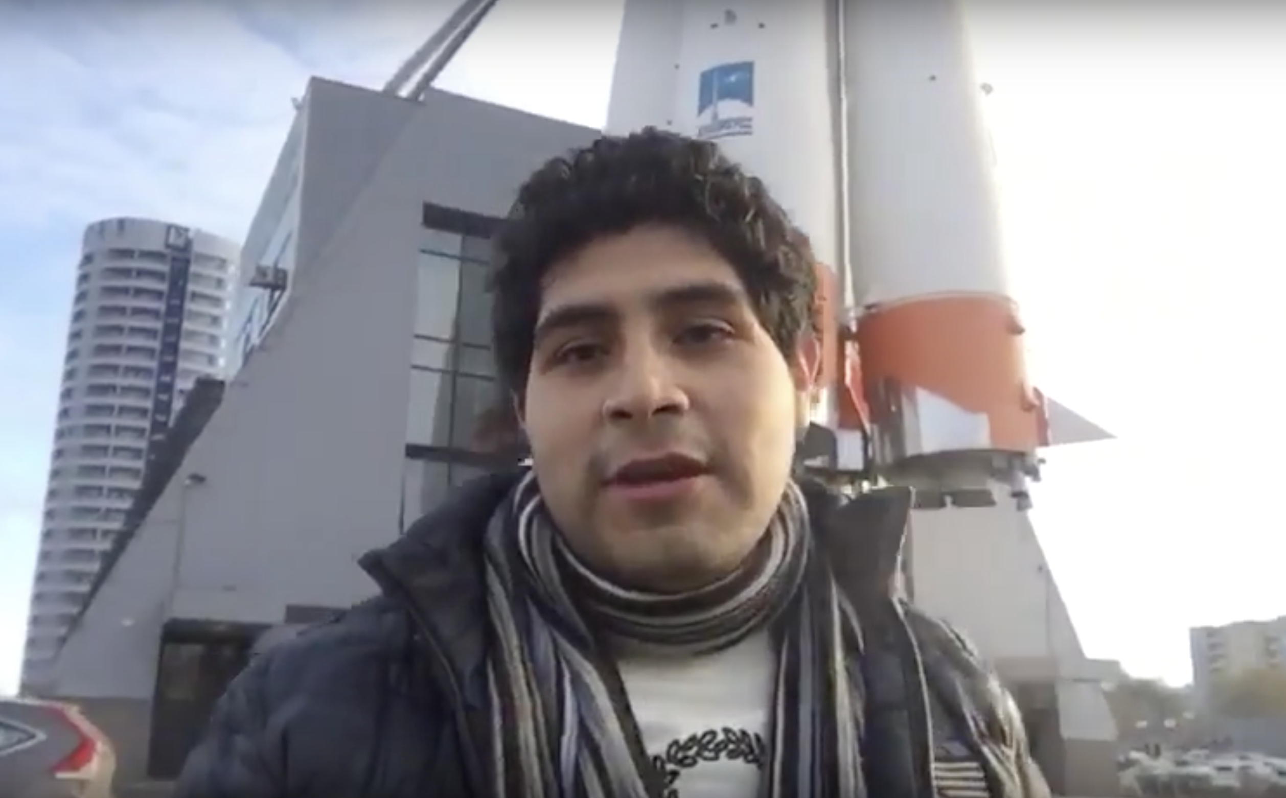 Young Peruvian engineer wins scholarship to study at Russia space program