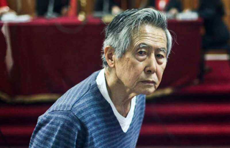 Alberto Fujimori readmitted to hospital with heart problems
