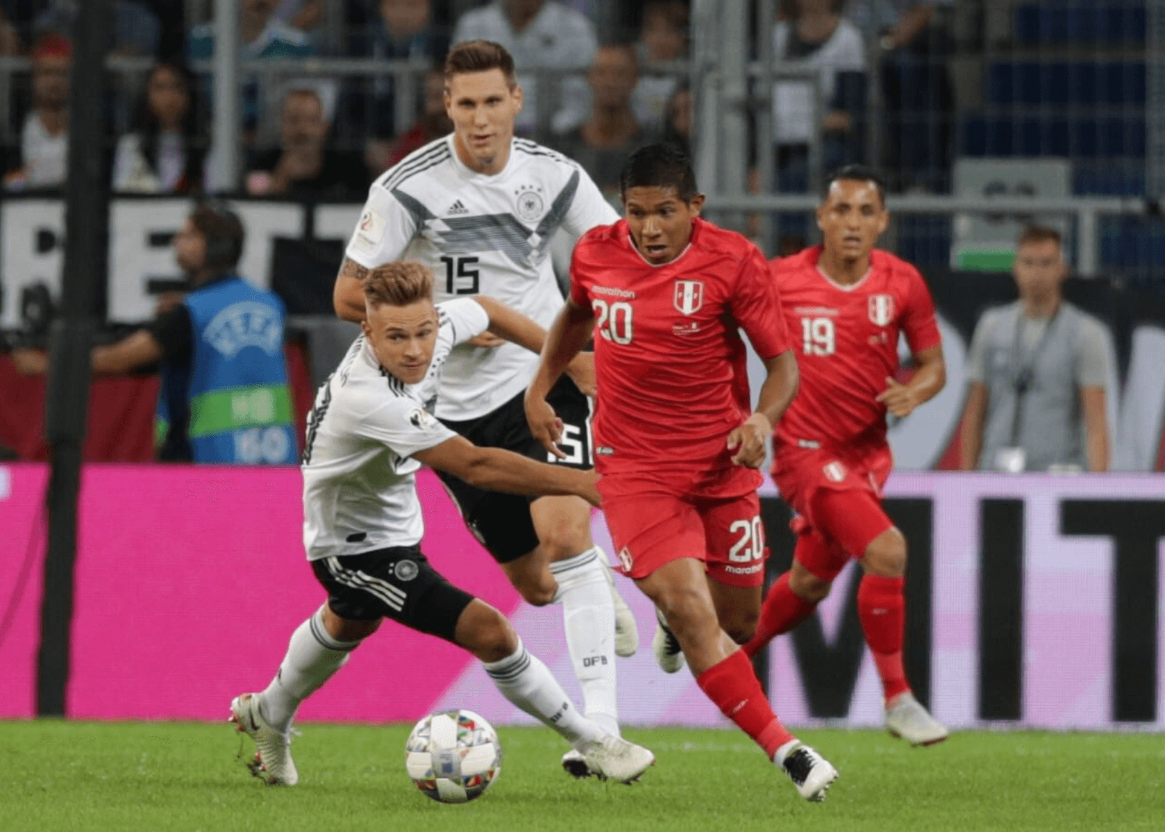 Peru loses 2-1 to Germany in road friendly