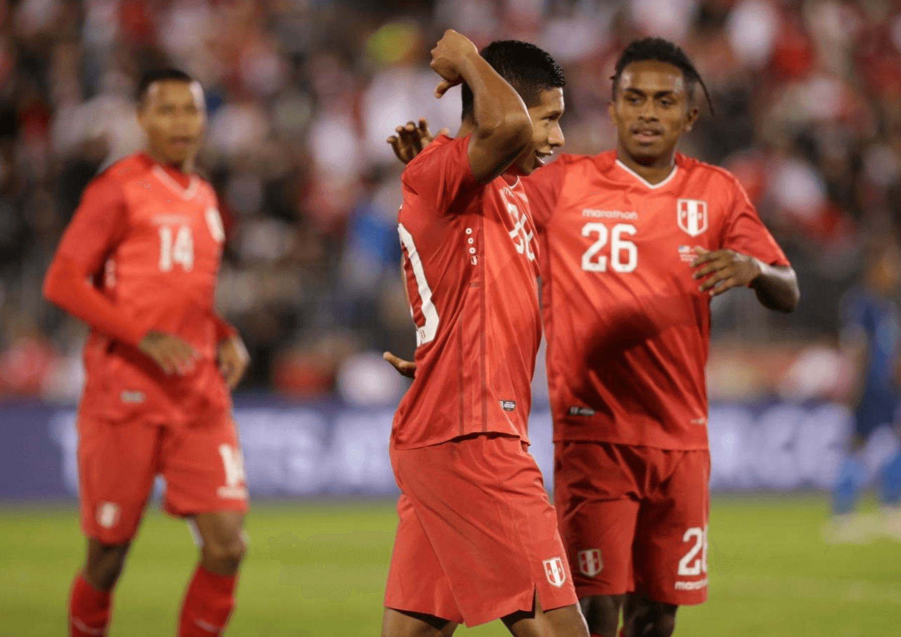 Peru draws with United States in latest friendly