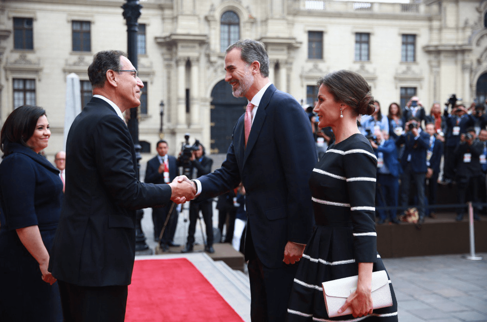 Peru welcomes Spanish King and Queen for royal visit