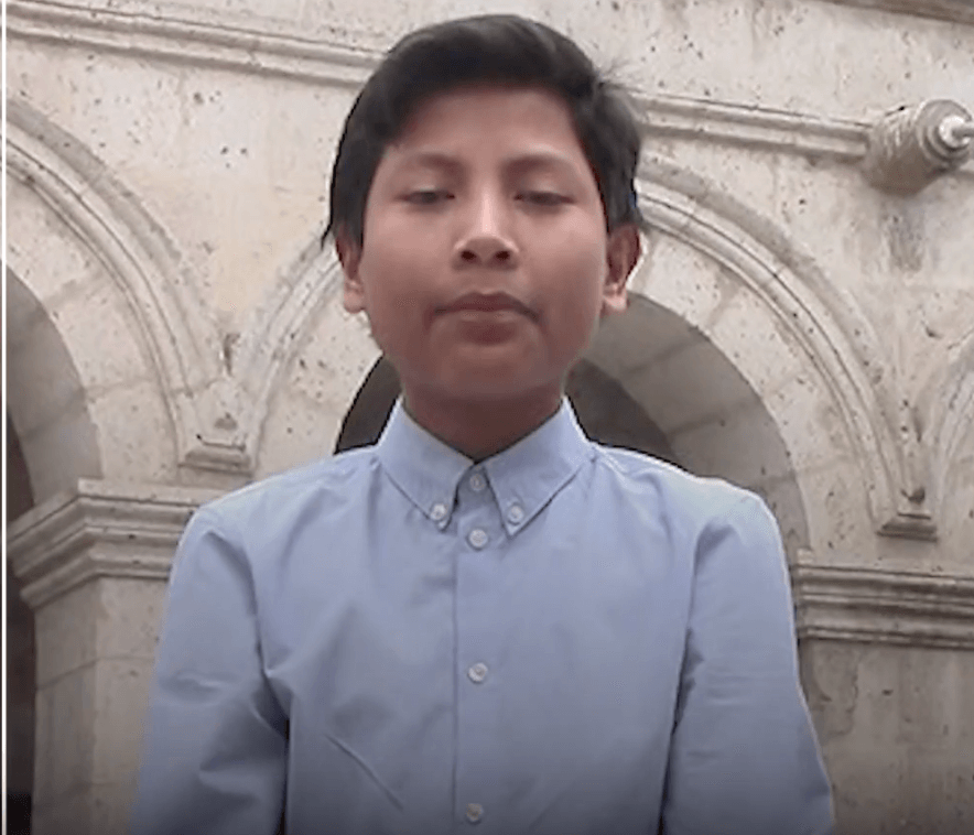 Peru teenager wins international climate award