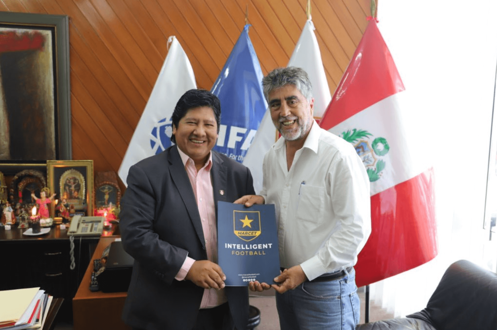 Head of Peruvian football federation detained for possible corruption