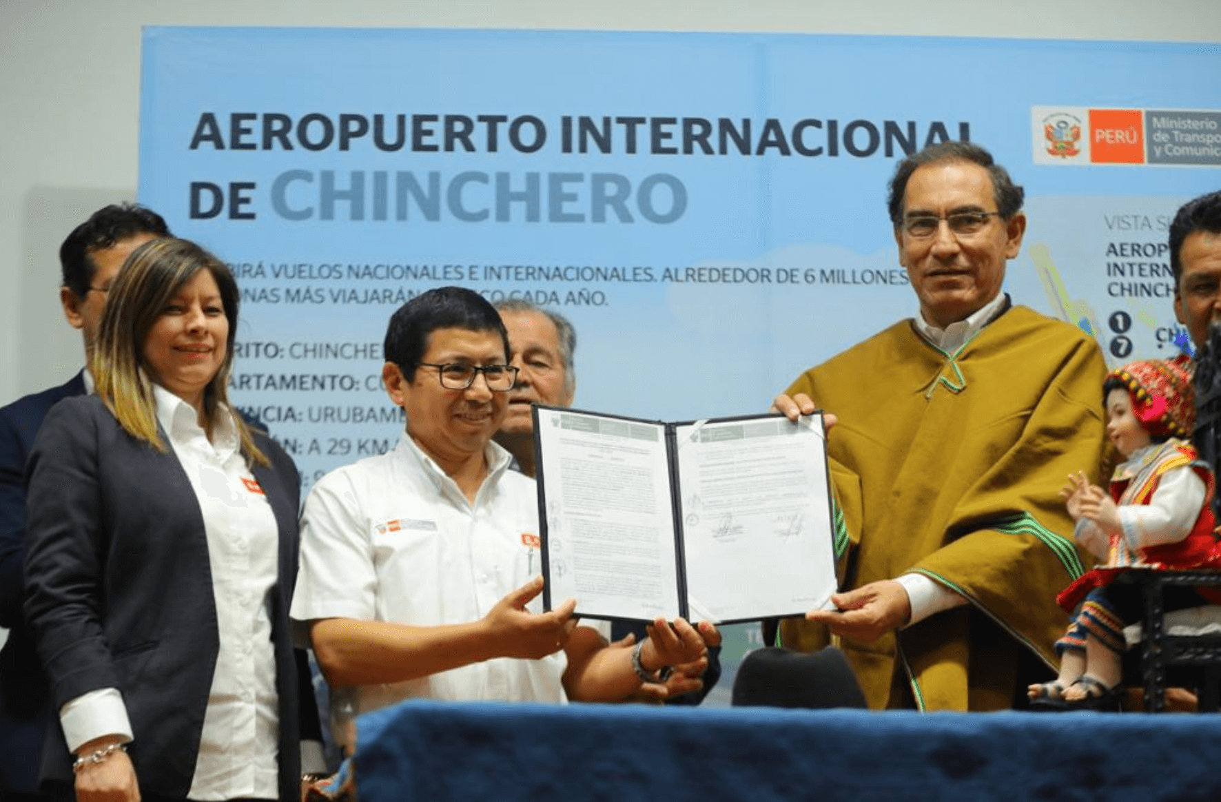 Construction of Chinchero Airport in Cusco passes first step with government authorization