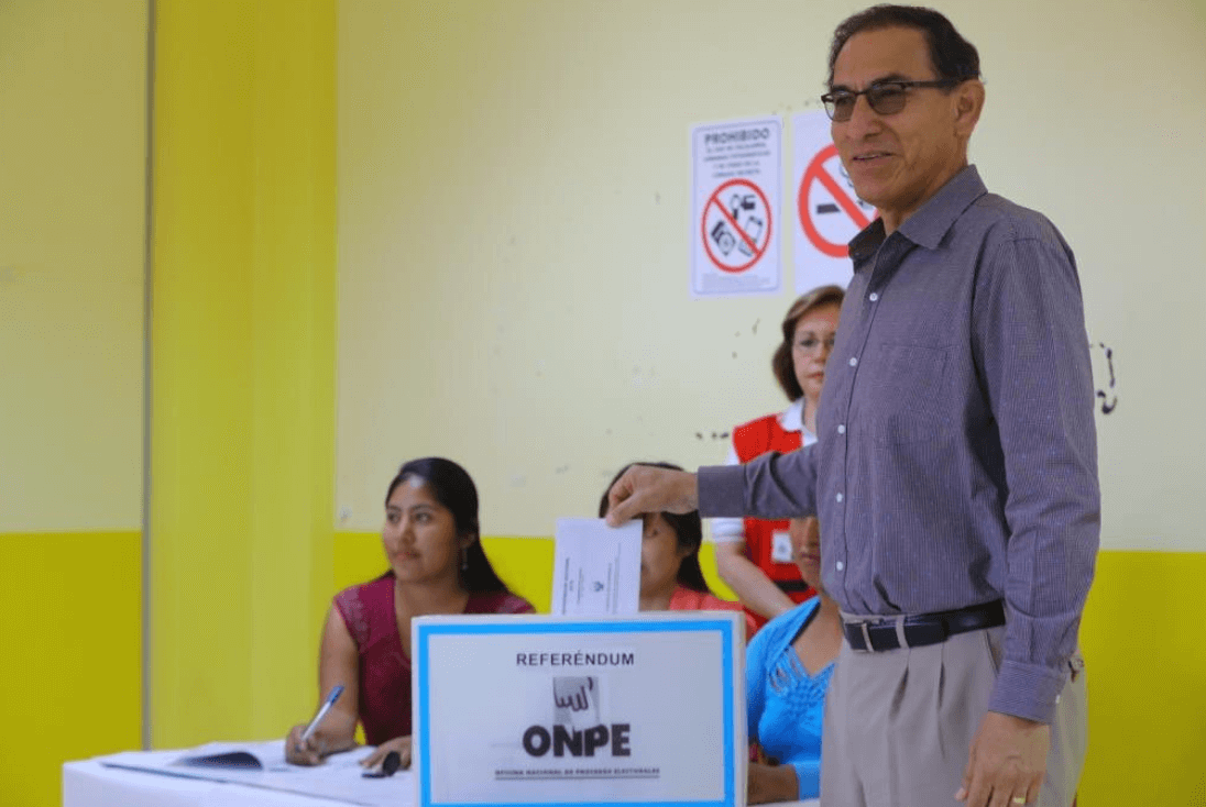 Three of four anticorruption votes pass on Peru's referendum