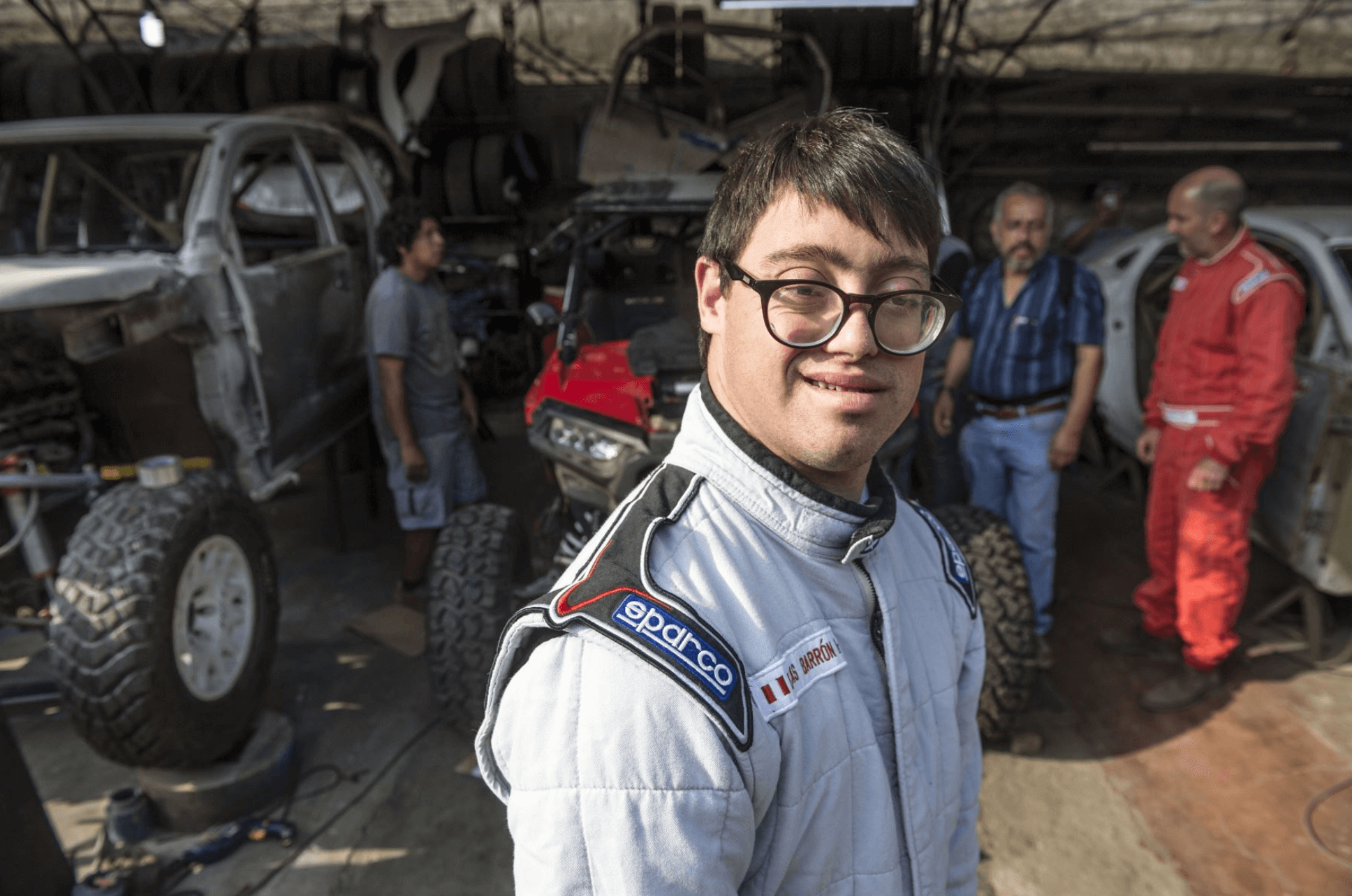 Peruvian driver with Down Syndrome set to make history at the Dakar Rally